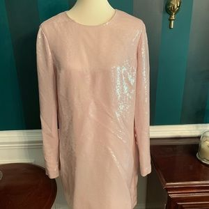 8d6a6003 Diane Von Furstenberg. Diane von Furstenberg Pink Sequin dress Size 14